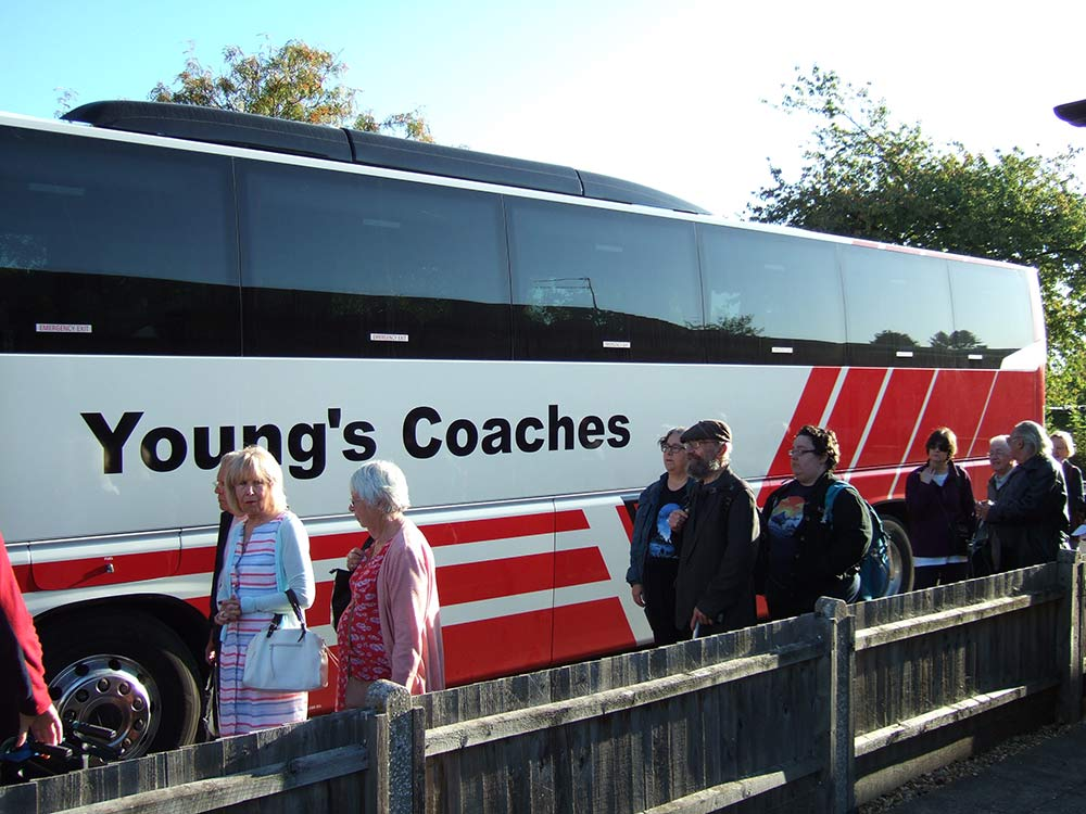 Boarding the bus 2 (Young's Coaches)